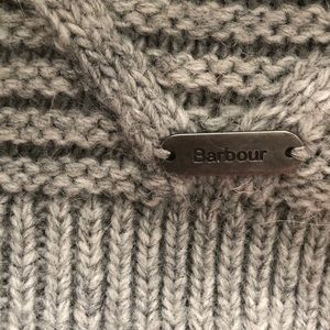 Barbour Grey Sweater